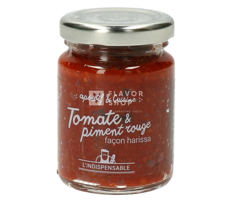 Trempette Tomate & piment rouge façon harissa