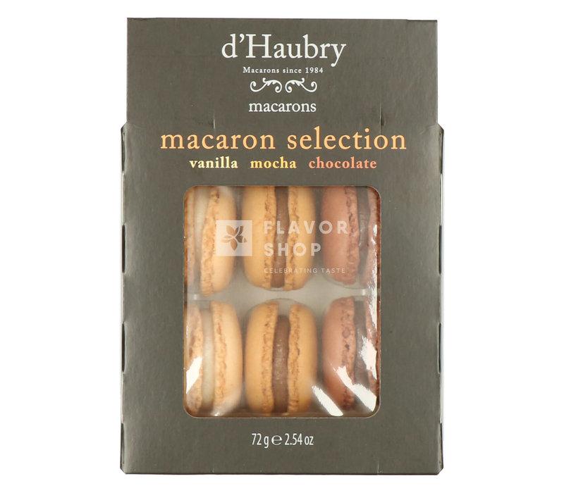 Macarons Vanille - Chocolat - Moka