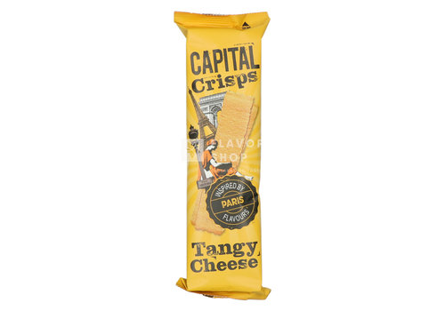 Capital Crisps Long Crisps Tangy Cheese Paris