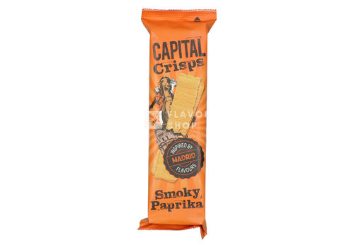 Capital Crisps Long Crisps Smoky Paprika Madrid