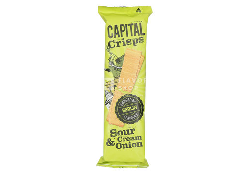 Capital Crisps Long Crisps Cream & Onion Berlin