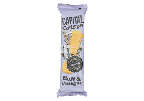 Capital Crisps Long Crisps Salt & Vinegar Londres