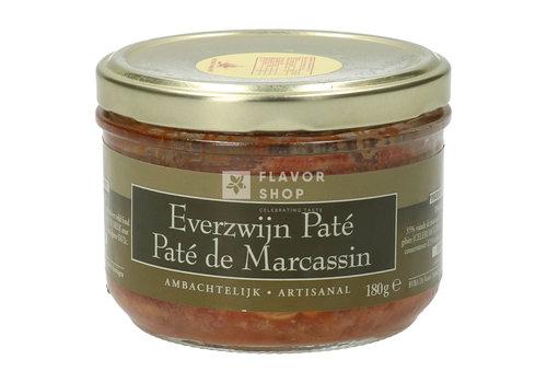 De Veurn' Ambachtse Everzwijn paté - Ambachtelijk 180 g