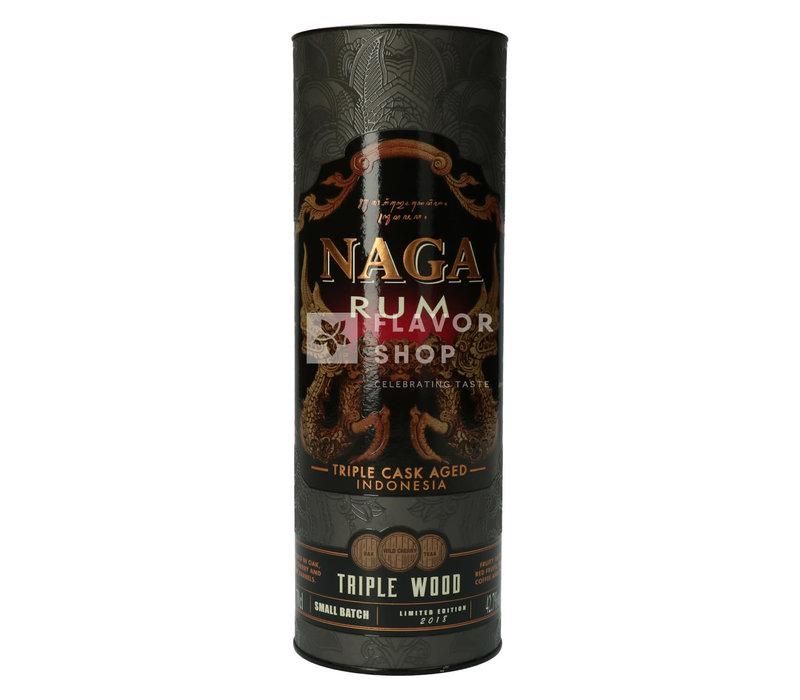 Naga Rum Triple Wood - Petit lot