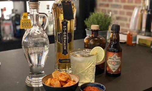 Apero: Tête de Veau Sucrée Cocktail + hapje