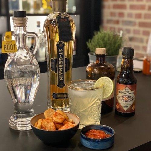 Apero à la Kalfskop: Tête de Veau Sucrée Cocktail + Hapje