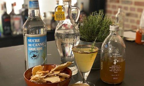 Apero: Tête de Veau Salée Cocktail + hapje