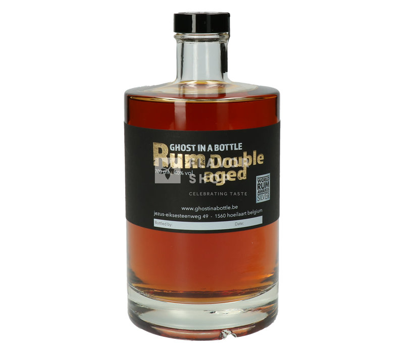 Rum Double Aged 70 cl - Ghost in a Bottle