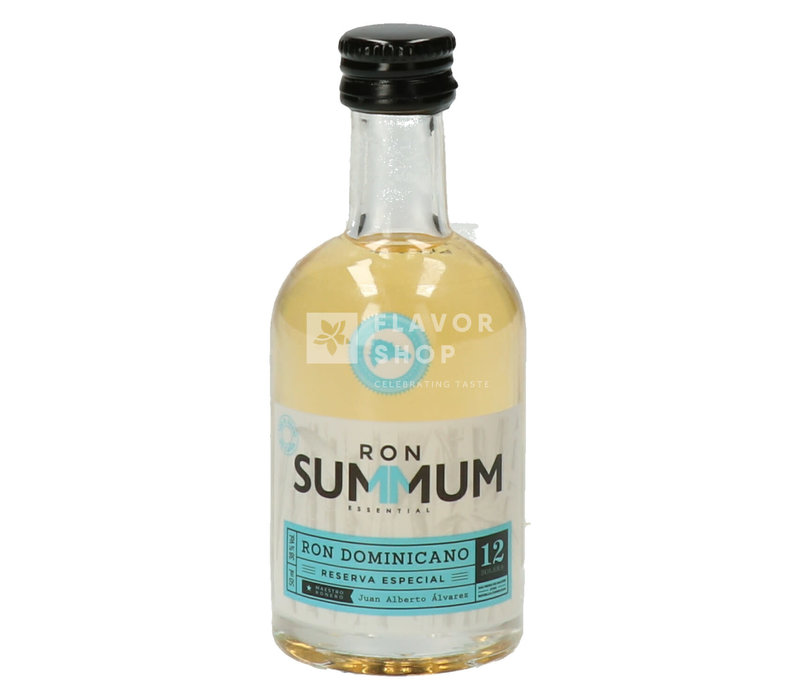 Summum / Cañero Rum 12 years Mini 5 cl