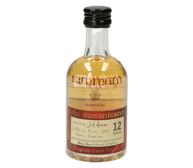 Summum / Cañero Rum 12years Cognac Cask Finish Mini 5cl