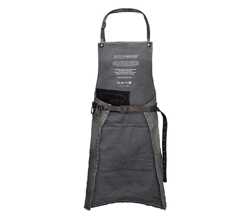 Barbecueschort Distressed Denim Grey