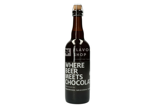 "Valentino Chocolatier Bier 75 cl ""Where beer meets chocolate"""