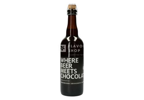Valentino Chocolatier Bière 75 cl 'Wherebeermeetschocolate'