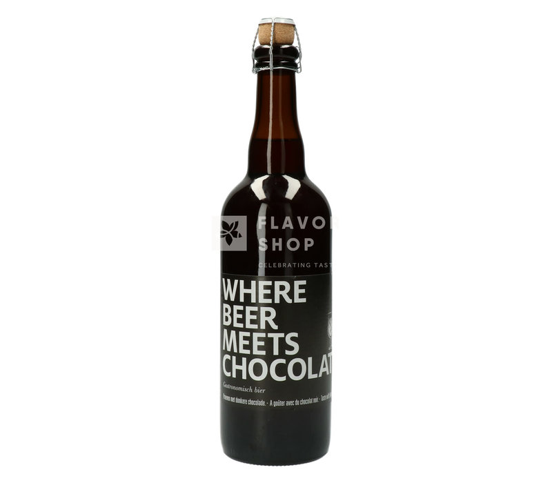 Where beer meets chocolate 75cl