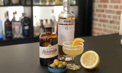 Apero: Sidecar Cocktail + Hapje