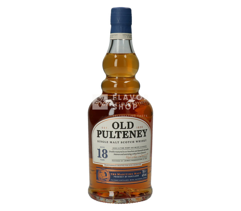 Whisky Old Pulteney 18 ans