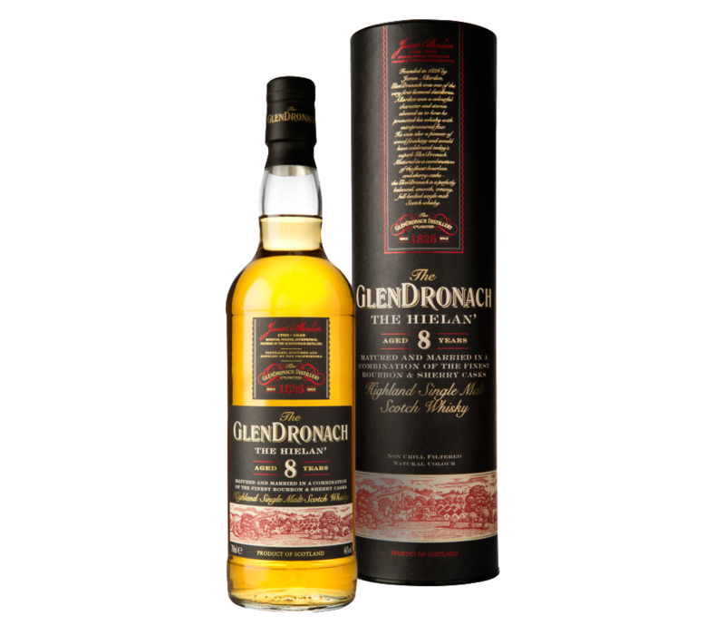 Glendronach The Hielan 8 Years Whisky