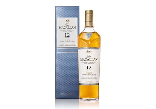 The Macallan 12 years Triple Cask Whisky