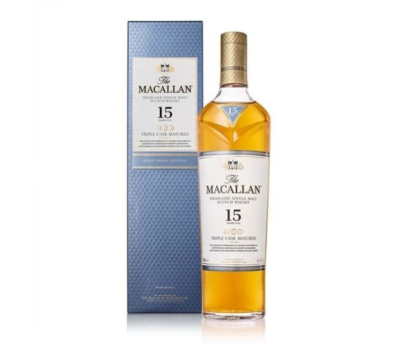 The Macallan 15 years Triple Cask Matured Whisky