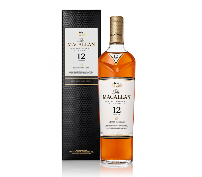 The Macallan 12 ans Sherry Oak Cask Whisky