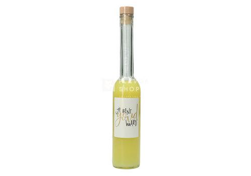 Het Geel Genot Limoncello 'Je bent Goud Waard' 350 ml