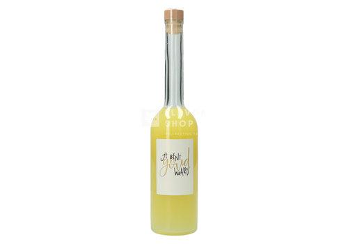 Het Geel Genot Limoncello 'Je bent Goud Waard' 500 ml