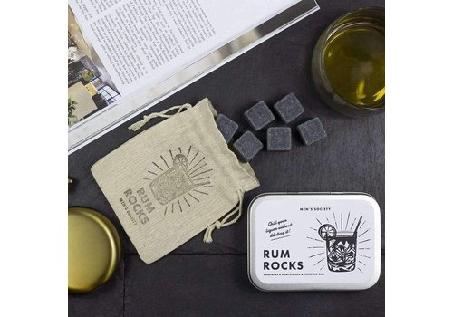 Men's Society Rum Rocks (Cooling Stones)