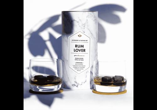 Men's Society Kit d'amant de rhum (kit d'accessoires et de dégustation)