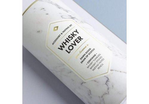 Men's Society Kit d'amant de whisky (accessoire et kit de dégustation)