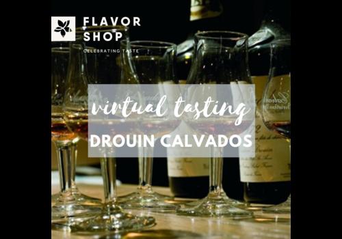 Flavor Shop 27/08/2020 - Virtual Drouin Calvados Tasting