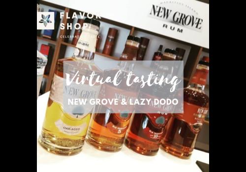 Flavor Shop 13/08/2020 - Virtual New Grove & Lazy Dodo Rum Tasting