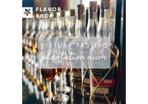 Flavor Shop 09/07/2020 - Virtual Plantation Rum Tasting