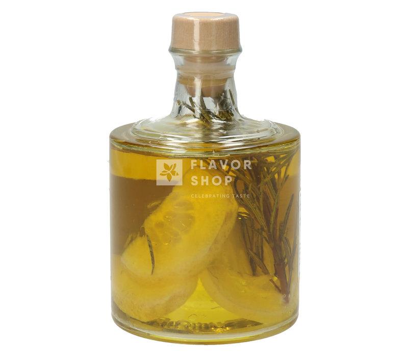 Olijfolie met Citroen en Rozemarijn 25 cl in stapelfles