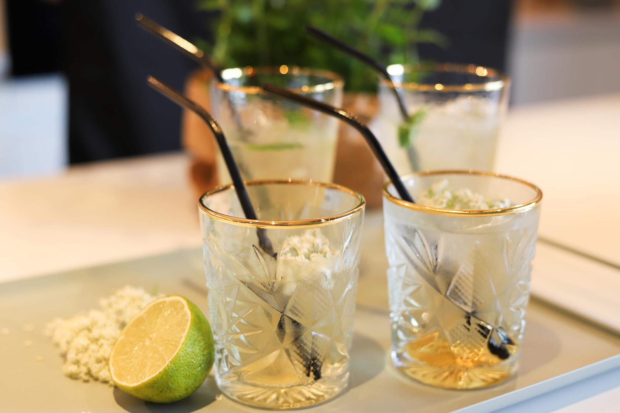 Apero: Hugo cocktail/mocktail