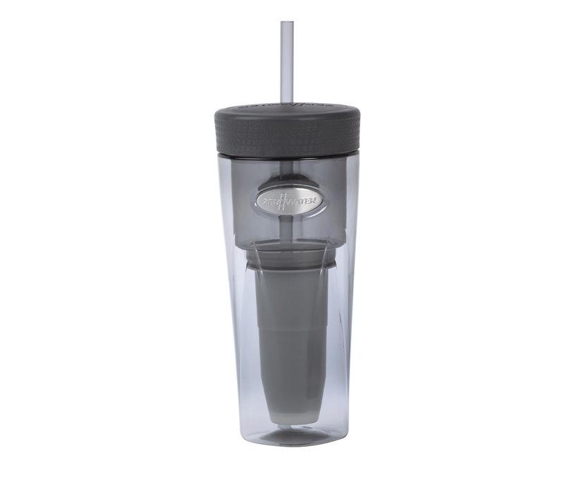 Gobelet à filtre ZeroWater gris 0,75 L