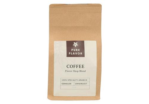 Pure Flavor Café Mélange Maison Moulu 125 g - Pour Espresso et Café à Filtre