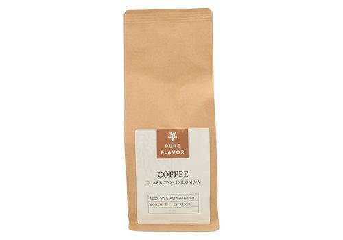 Pure Flavor El Arroyo Koffie in Bonen 250 g - Voor Espresso