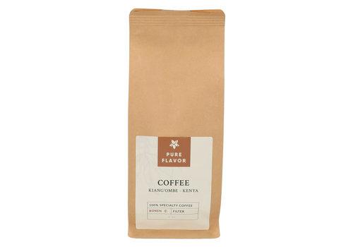 Pure Flavor Kiang'ombe Koffie in Bonen - Voor Filterkoffie