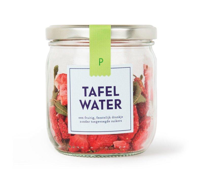 Refill Tafelwater Aardbei & Verveine