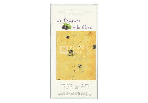 Fratelli Comino Focaccia secca alle Olive