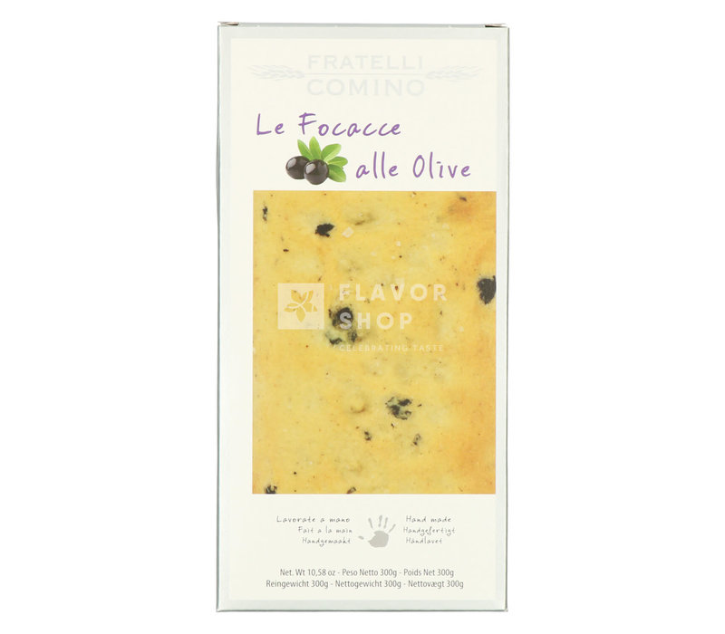 Focaccia secca alle olive