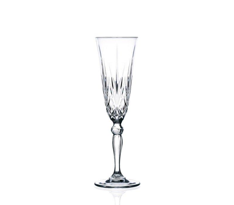 Champagne Flûte 16 Cl Melodia - 6 stuks