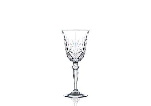 RCR Cristalleria Italiana Wijnglas witte wijn 21 Cl Melodia - 6 stuks