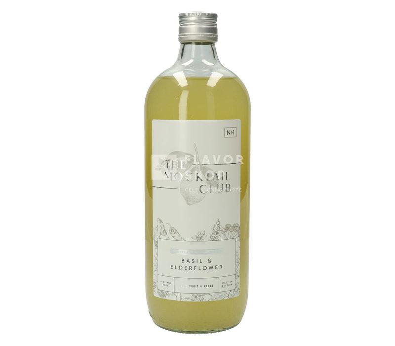 Mocktail N°1 Basil & Elderflower