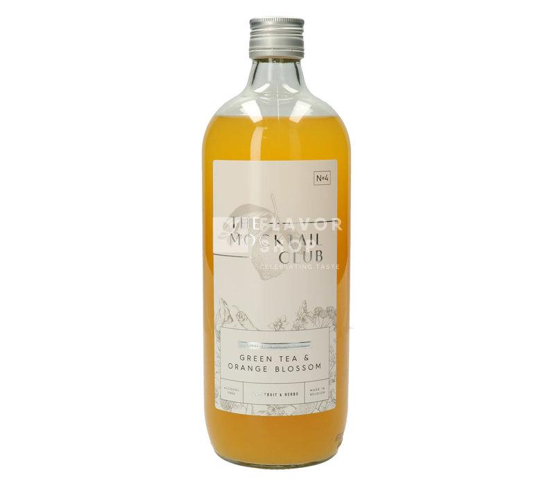 Mocktail Thé Vert & Fleur d'Oranger