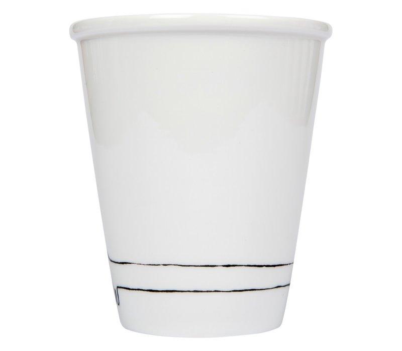 Tasse en porcelaine 'Teckel'