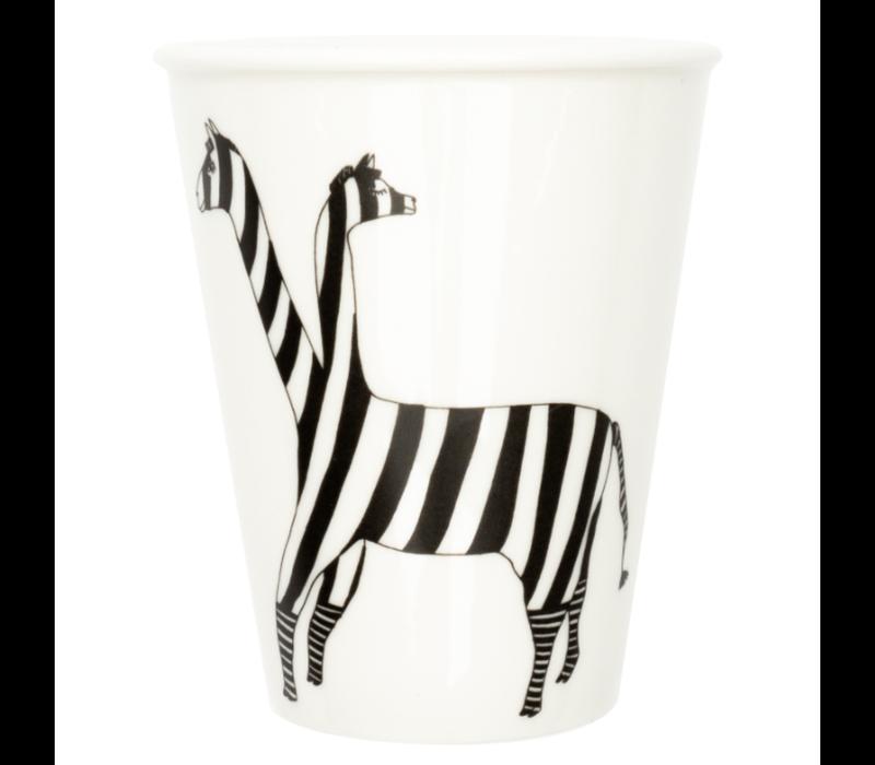 Tasse en porcelaine 'Lama'