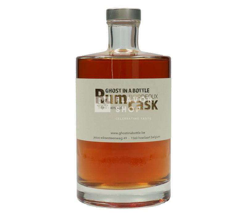 Rum  Bordeaux Cask Finish 70 cl - Ghost in a Bottle