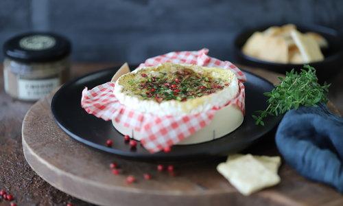 Camembert in de oven