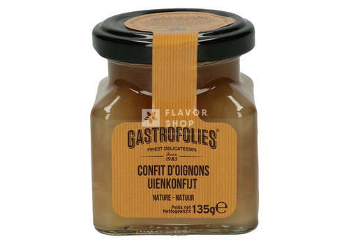 Gastrofollies Confit d'oignons